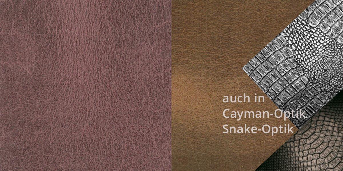 Lederfliesen für den Boden und Lederfliesen für die Wand FINE USED