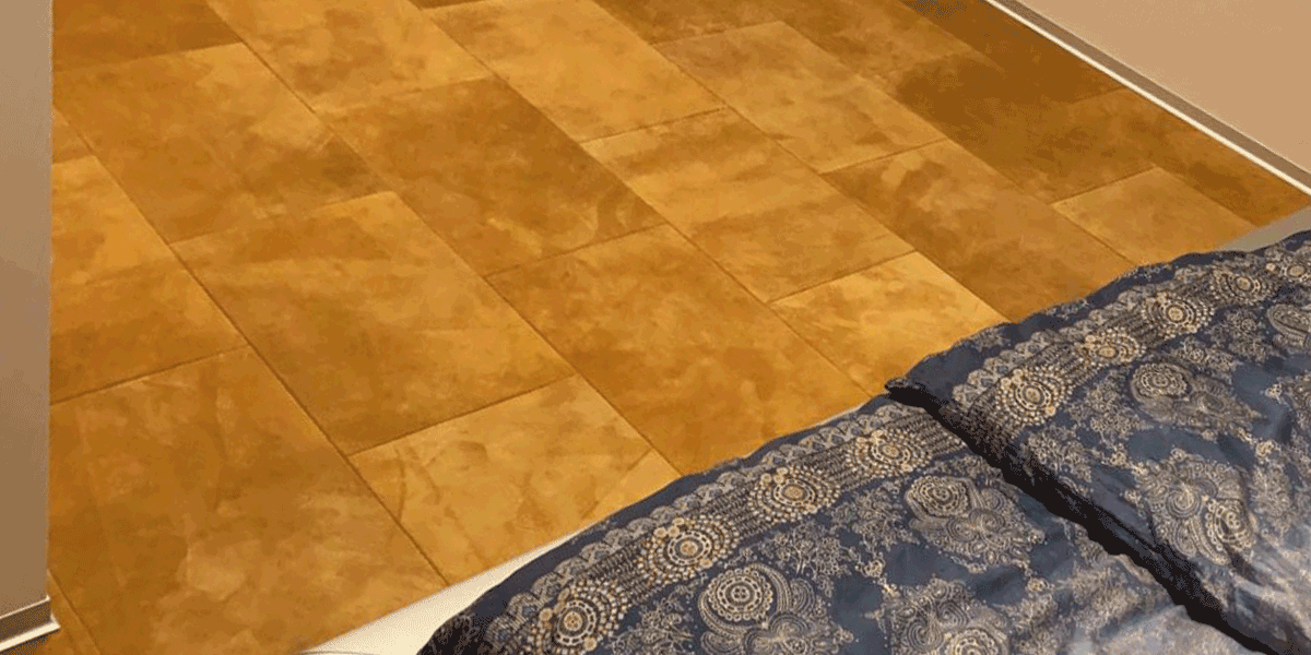 Velourlederboden | Wildlederboden GOLDEN BROWN